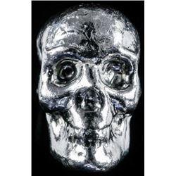 SKULL Collector Bullion .999 Fine Silver 1  Troy Ounce