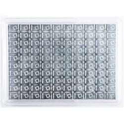 Lot (100) .999 Fine Pure Silver Bars '  SUISSE'