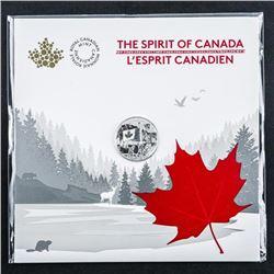 The Spirit of Canada .999 Fine Silver Coin  $1.00 Gift Folio