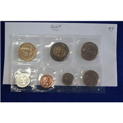 Canada Coin Set (1) - 2007, Unc.; Sealed