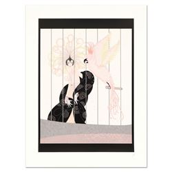"""Erte (1892-1990), """"The Bird Cage"""" Limited Edition Serigraph, Numbered and Hand S"""
