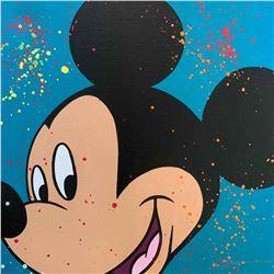 """Paulina Del Mar """"Mickey Mouse in Aqua"""""""