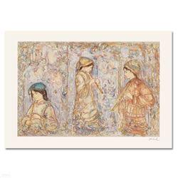 Music in the Garden by Hibel (1917-2014)