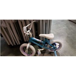 BLUE HUFFY KIDS BIKE