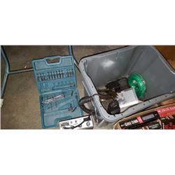 BIN OF TOOLS, CB RADIO