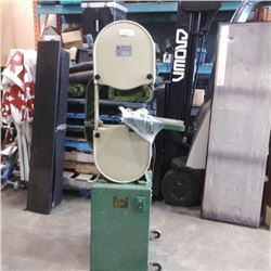 SHENG TSAI 14 INCH BAND SAW - NEEDS TABLE BRACKETS REPLACED