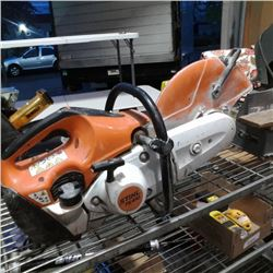 STIHL TS410 GAS POWERED CUTOFF SAW