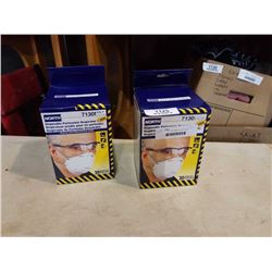 2 boxes of new north disposable particulate masks