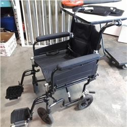 Airgo folding wheelchair