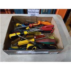 Box of 50+ screwdrivers