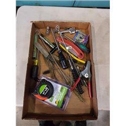 Tray of various tools