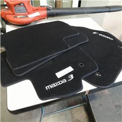 As new set of mazda 3 floor mats