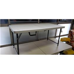 NEW 4FT FOLDING MARKET TABLE