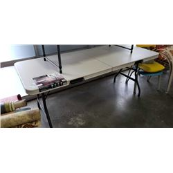 NEW 6FT FOLDING MARKET TABLE