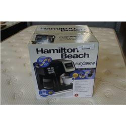 AS NEW HAMILTON BEACH FLEX BREW 2 WAY COFFEE MAKER - WORKING