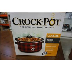 CROCK POT SLOW COOKER IN BOX