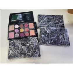 4 NEW SUVA  ARTISAN PROTEGE 11 COLOR EYESHADOW PALLETTES RETAIL $45 EACH