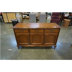 FRENCH PROVINCIAL 3 DRAWER SERVER