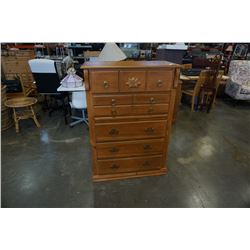 5 DRAWER PINE CHEST OF DRAWERS