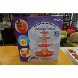 RIVAL ELECTRIC BEVERAGE FOUNTAIN NEW IN BOX