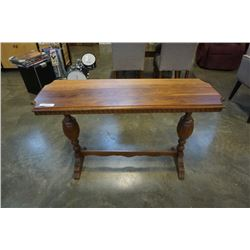 ANTIQUE REFINISHED SOFA TABLE