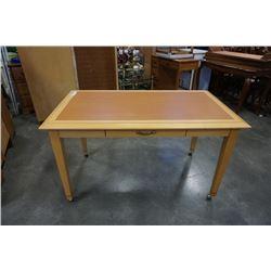 Braman furnature desk with drawer