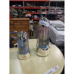 2 SIMPSON MOTION LAMPS