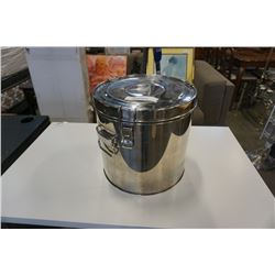 INSULATED 13 INCH STAINLESS STEEL LOCKING FOOD WARMER