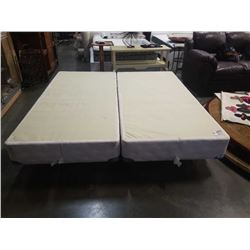 KING SIZE BOX SPRING AND ROLLER FRAMES