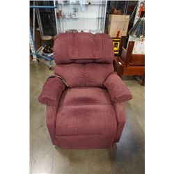 GOLDEN UPHOLSTERED LIFT CHAIR - WORKING