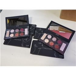 4 NEW SUVA  ARTISAN PROTEGE 8 COLOR EYESHADOW PALLETTES RETAIL $45 EACH