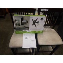 NEW OVERSTOCK KANTO 26-60 INCH FULL MOTION TV WALL MOUNT RETAIL $74.99