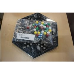 Marble chinese checkers game