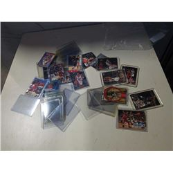LOT OF BASKETBALL CARDS AND HARD CASES