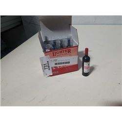 LOT OF NEW WINE BOTTLE BUTANE LIGHTERS
