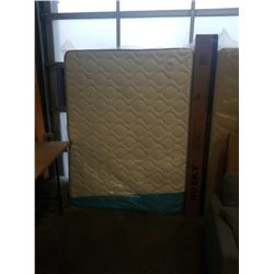 AS NEW QUEEN SIZE VELOCITY PLUS HUSKY MATTRESS 10.5 INCH - RETAIL $699