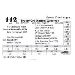 Frosty Crk Nation Wide 969