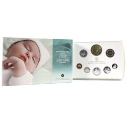 2008  Baby Sterling Silver Proof Set with Special medallion and Loon.