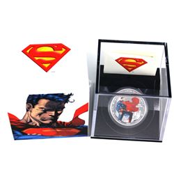 2013 Canada $20 Superman - Man of Steel Fine Silver Coin (TAX Exempt).  Coin comes with  all origina