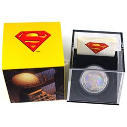 2013 Canada $20 Superman & Metropolis Hologram Fine Silver Coin (TAX Exempt). Coin comes with all or