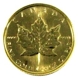 1982 Canada $5 1/10oz 9999 Gold Maple Leaf (TAX Exempt)