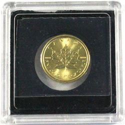 2017 Canada $10 1/4oz 9999 Gold Maple Leaf (TAX Exempt)