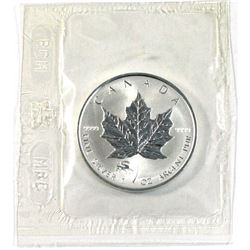 2000 Canada $5 Dragon Privy Mark silver Maple leaf with COA (Tax Exempt)
