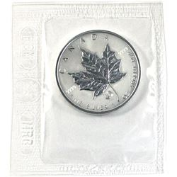 2005 Canada $5 Rooster Privy Mark Silver Maple Leaf (TAX Exempt)