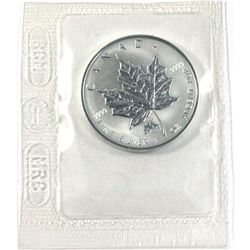 2004 Canada $5 Monkey Privy Mark Silver Maple Leaf (TAX Exempt)