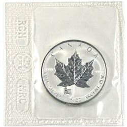 2003 Canada $5 Sheep Privy Mark Silver Maple Leaf (TAX Exempt)