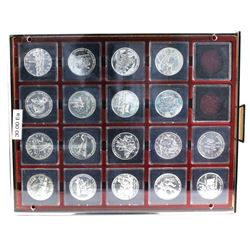 1981-1998 Canada Brilliant Uncirculated Silver dollars. You will receive one of each date from 1981