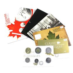 2002-2019 Canada Proof-like uncirculated set. Lot includes the 2002P, 2005, 2007, 2010, 2011, 2018 a