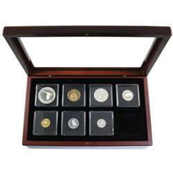 2017 Canada 1967 Centennial Commemorative pure silver proof Set with the gold plated 1c/50-cent coin