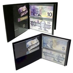 Lasting Impressions $5 and $10 Banknote Sets. 2pcs